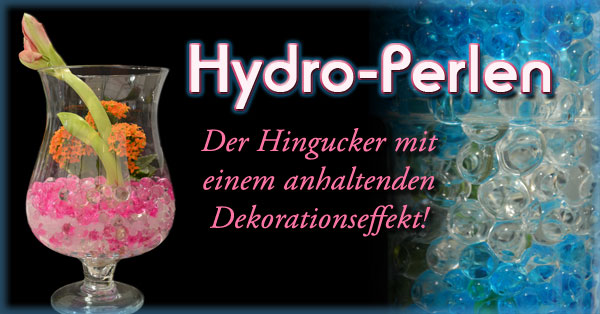 Hydroperlen Dekorationsperlen